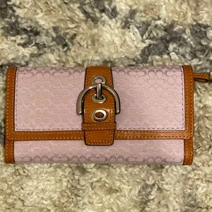 Coach Trifold Wallet NWOT